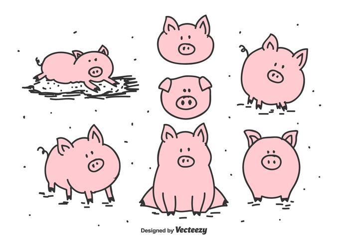 700x490 Pig Free Vector Art