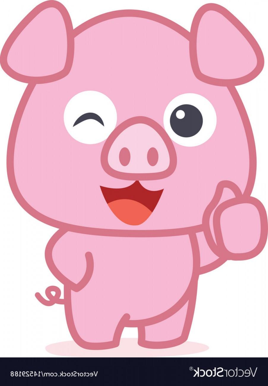 903x1296 Character Of Cute Pig Cartoon Vector Shopatcloth
