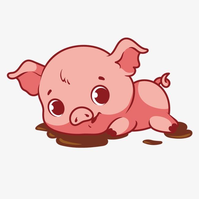 650x650 Vector Cute Pig, Pig Vector, Cute Clipart, Pig Clipart Png And