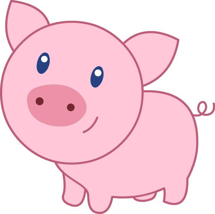 736x732 Cute Pig Cartoon 07 Wallpaper Pig Images In 2018
