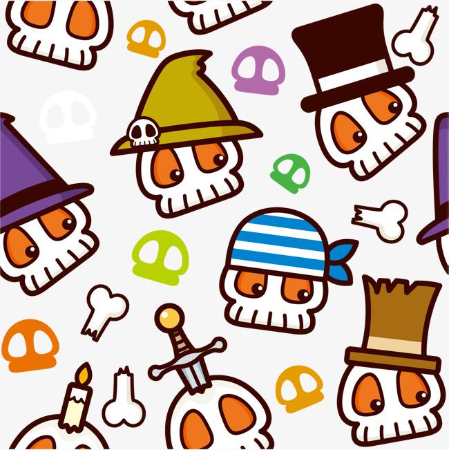 650x651 Vector Cute Skull Cartoon, Skull Vector, Cartoon Vector, Skull Png