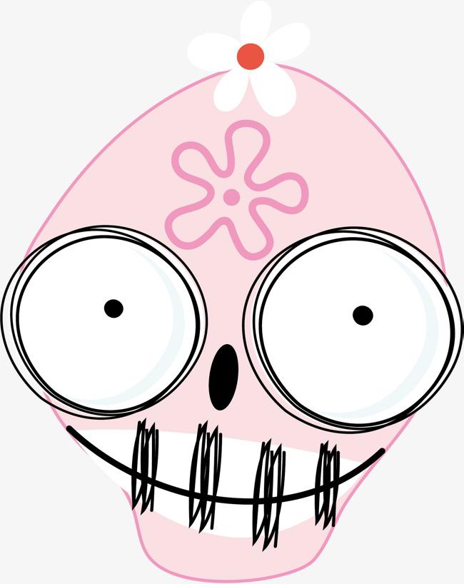 650x818 Vector Cute Skull Head, Skull Vector, Head Vector, Skull Head Png