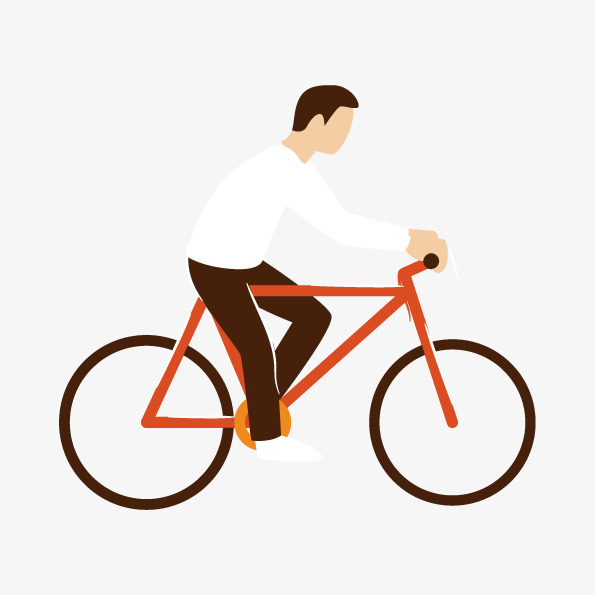 595x595 Cycling Vector Characters, Cycling Vector, Cycling, Office Worker