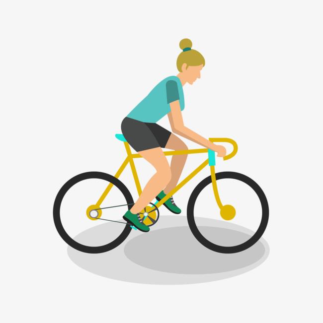 650x651 Cycling Vector Characters, Vector Character, Character, Bicycle