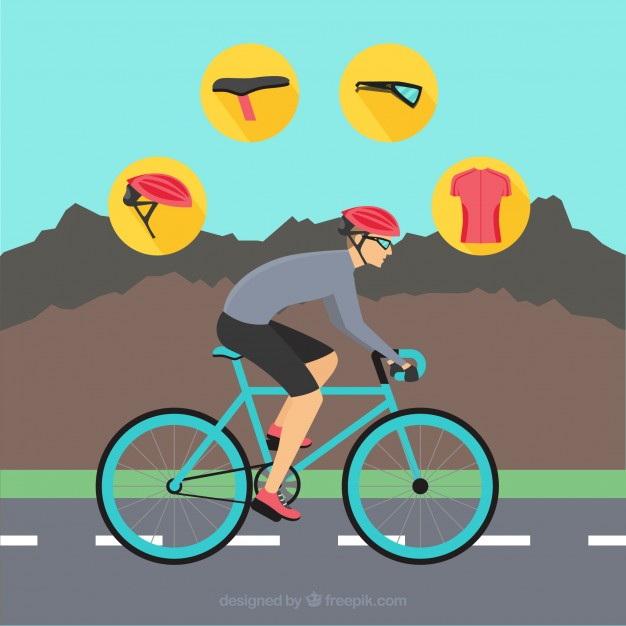 626x626 Mountain Cycling Vector Pack Vector Free Download