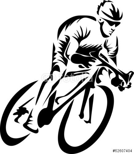 436x500 Tribal Vector Bicycle