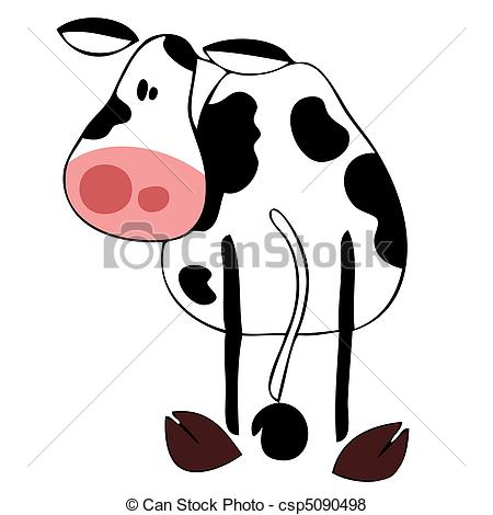 450x470 Funny Dairy Cow.