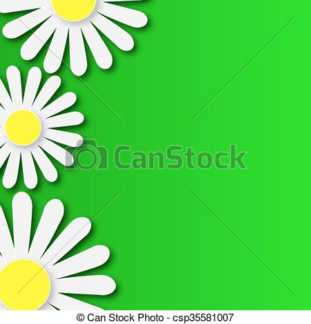 450x470 Abstract Floral Background With Dai. Abstract Floral Background