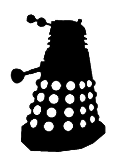 477x646 Laser Cut Dalek Jewelry From Black And White Images 5 Steps