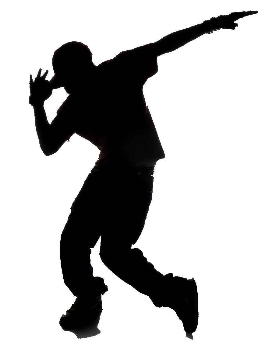 893x1157 Street Dance Vector Silhouettes Show Image