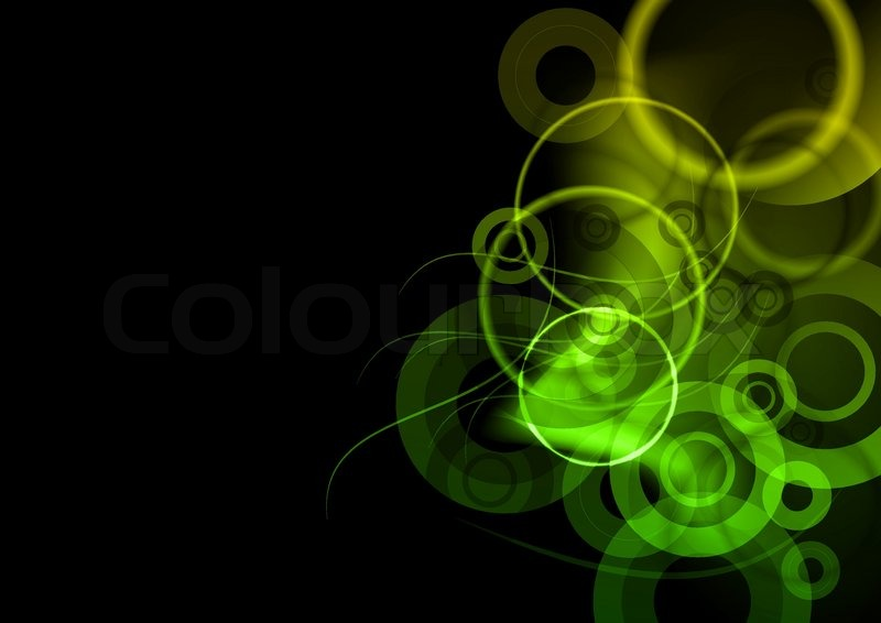800x566 Green Dark Background On The Black Stock Vector Colourbox