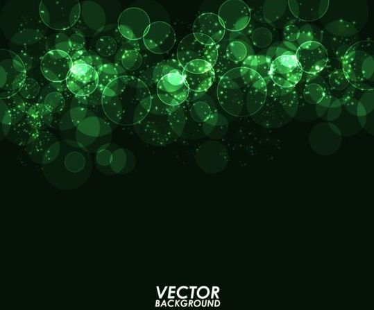 539x447 Green Light Circle With Dark Background Vector Free Download