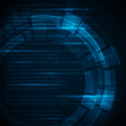 500x500 Concept Dark Blue Technical Vector Background Free Vector In