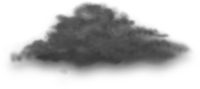 400x179 Free Dark Cloud Psd Vector Graphic