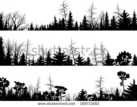 450x353 Dark Wood Clipart Winter Forest Free Collection Download And