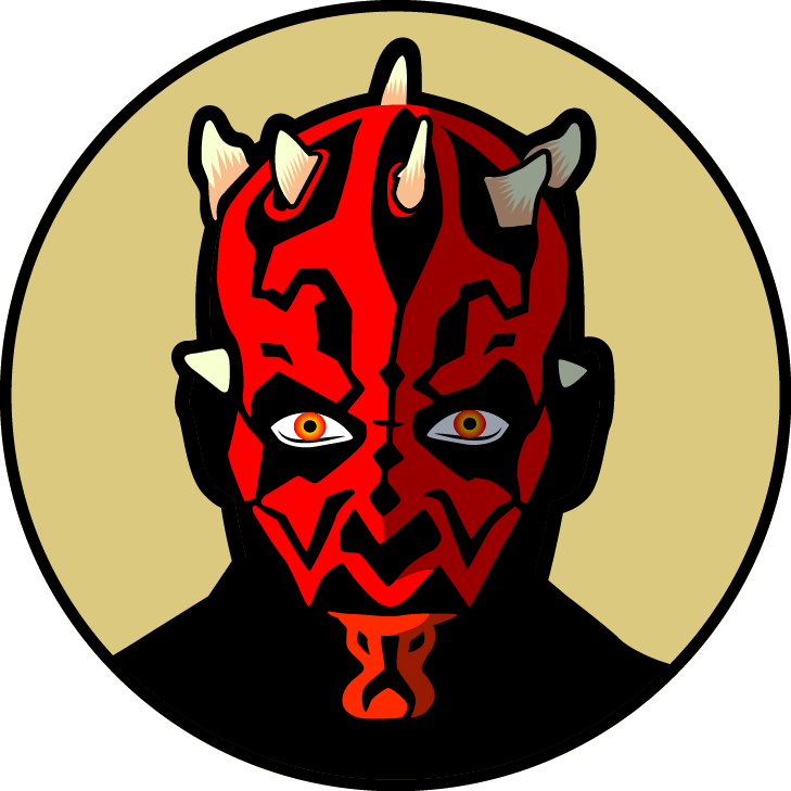Darth Maul Vector