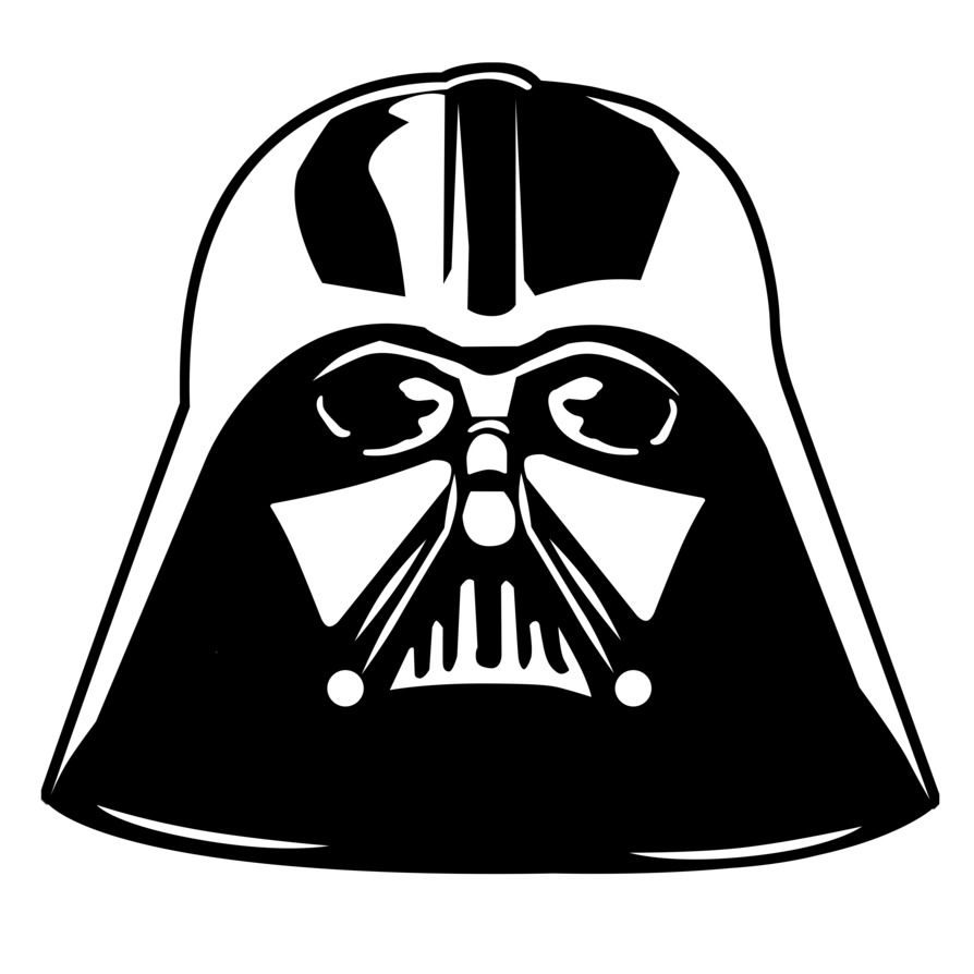 894x894 19 Vader Vector Stencil Huge Freebie! Download For Powerpoint