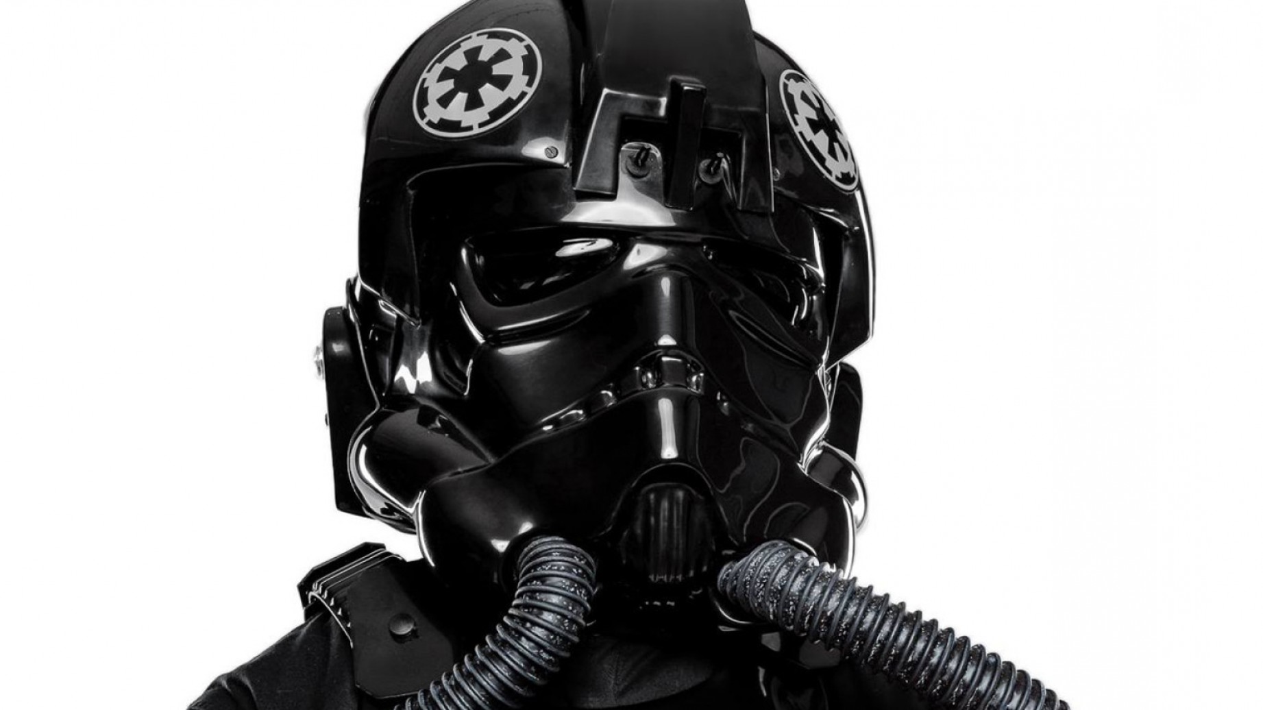 1843x1036 Anovos Tie Fighter Pilot Costume And Darth Vader Helmet First Look