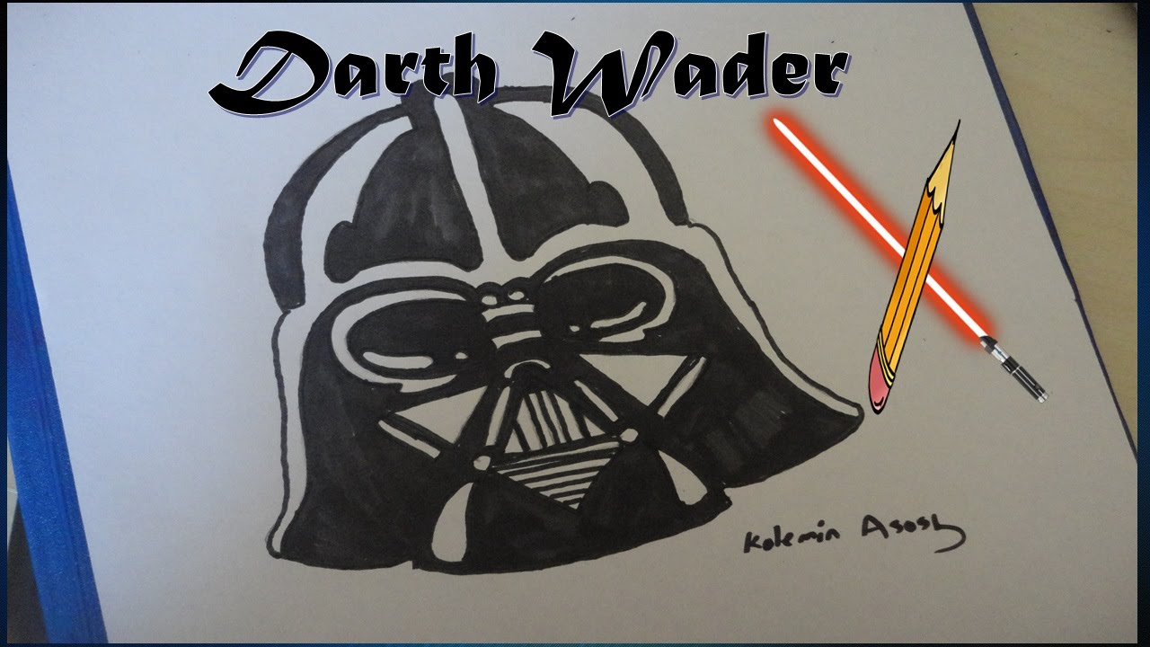 1280x720 Darth Vader Mask Vector