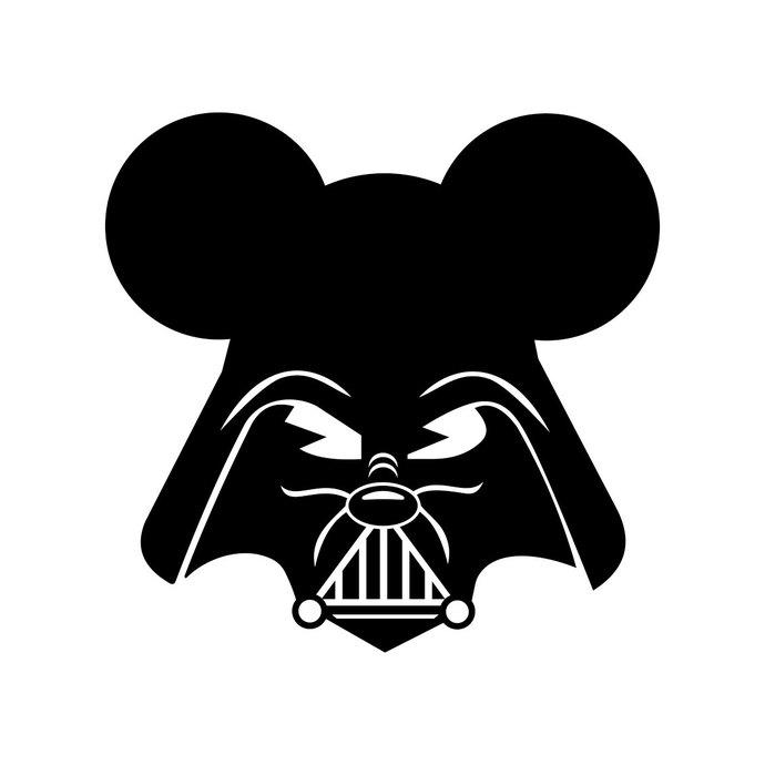 690x690 Darth Vader Mickey Mouse Star Wars Walt By Vectordesign On Zibbet