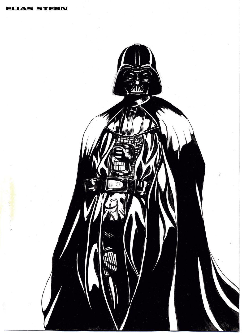 1024x1410 Darth Vader Vector