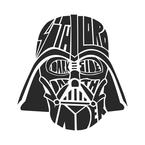 570x570 Dark Side Svg Darth Vader Svg Star Wars Svg Svg Dxf Png Vector Etsy