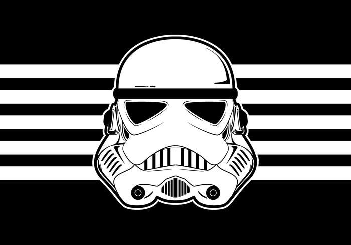 700x490 Star Wars Trooper Helmet Vector