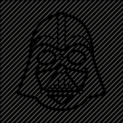 512x512 Dark Side, Darth Vader, Helmet, Skywalker, Star Wars, Starwars Icon