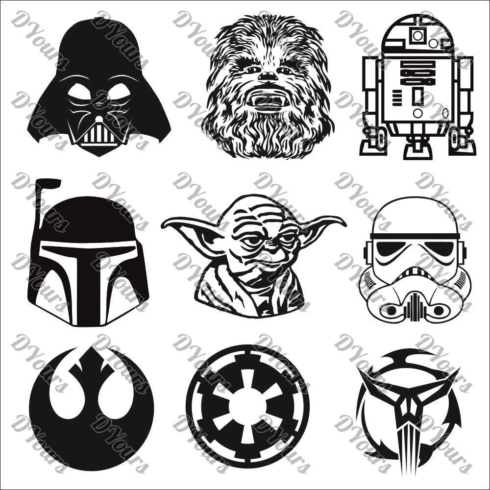 1000x1000 Darth Vader Clipart Star Wars Character