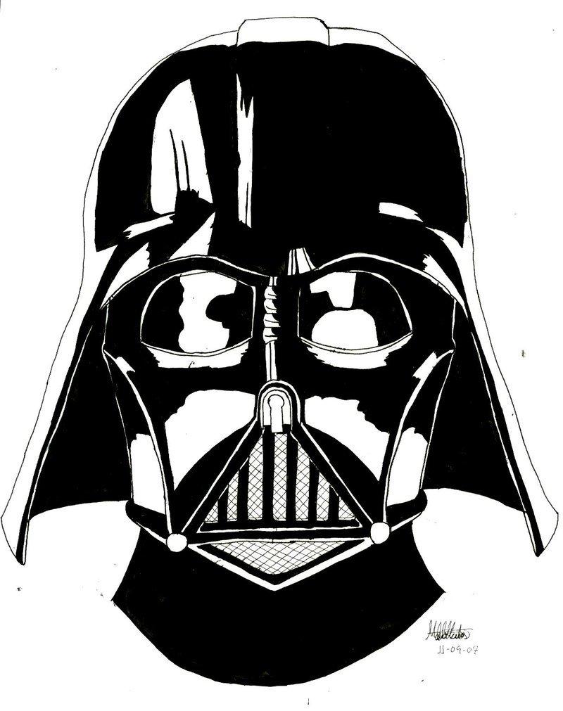 800x1011 Darth Vader Clipart