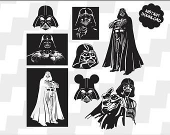 340x270 Darth Vader Svg Etsy