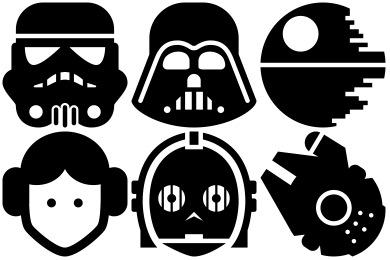 390x260 Free Darth Vader Vector Icon 173727 Download Darth Vader Vector