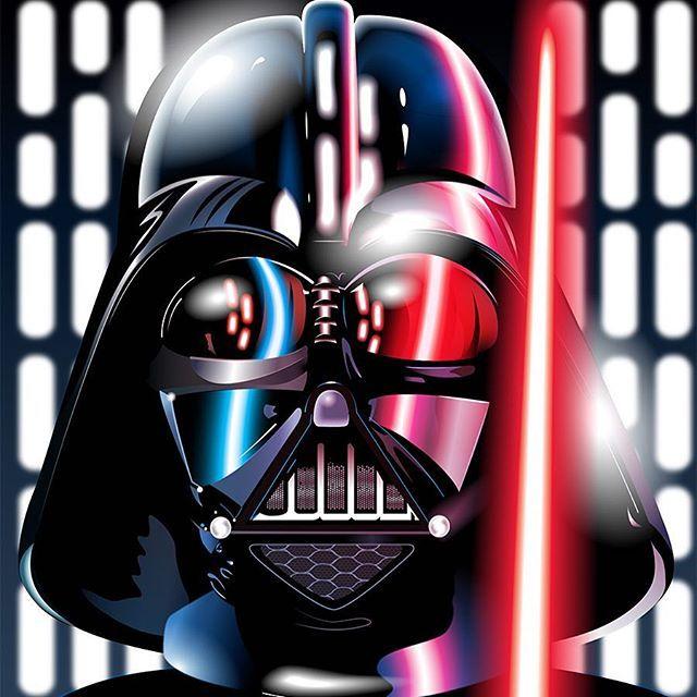 640x640 Star Wars Darth Vader Vector Art By @troydgustafson On Ig Star