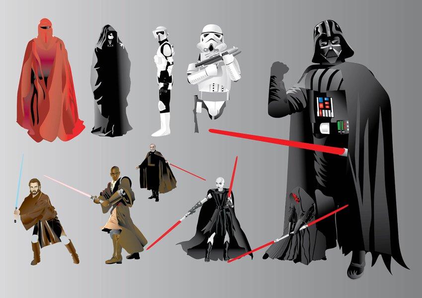 850x601 Star Wars Illustrations Vector Art Amp Graphics
