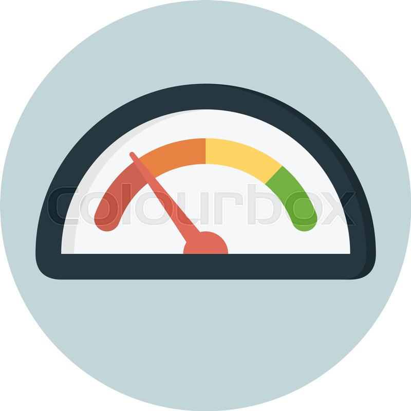 800x800 Analog Gauge Dashboard Stock Vector Colourbox