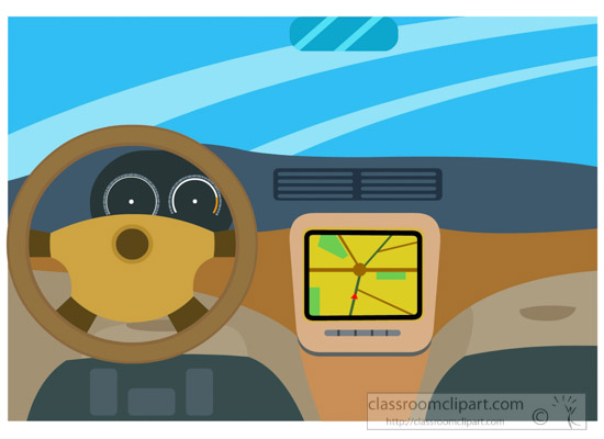 550x400 Automobiles Clipart Illustration Of Interior Car Dashboard