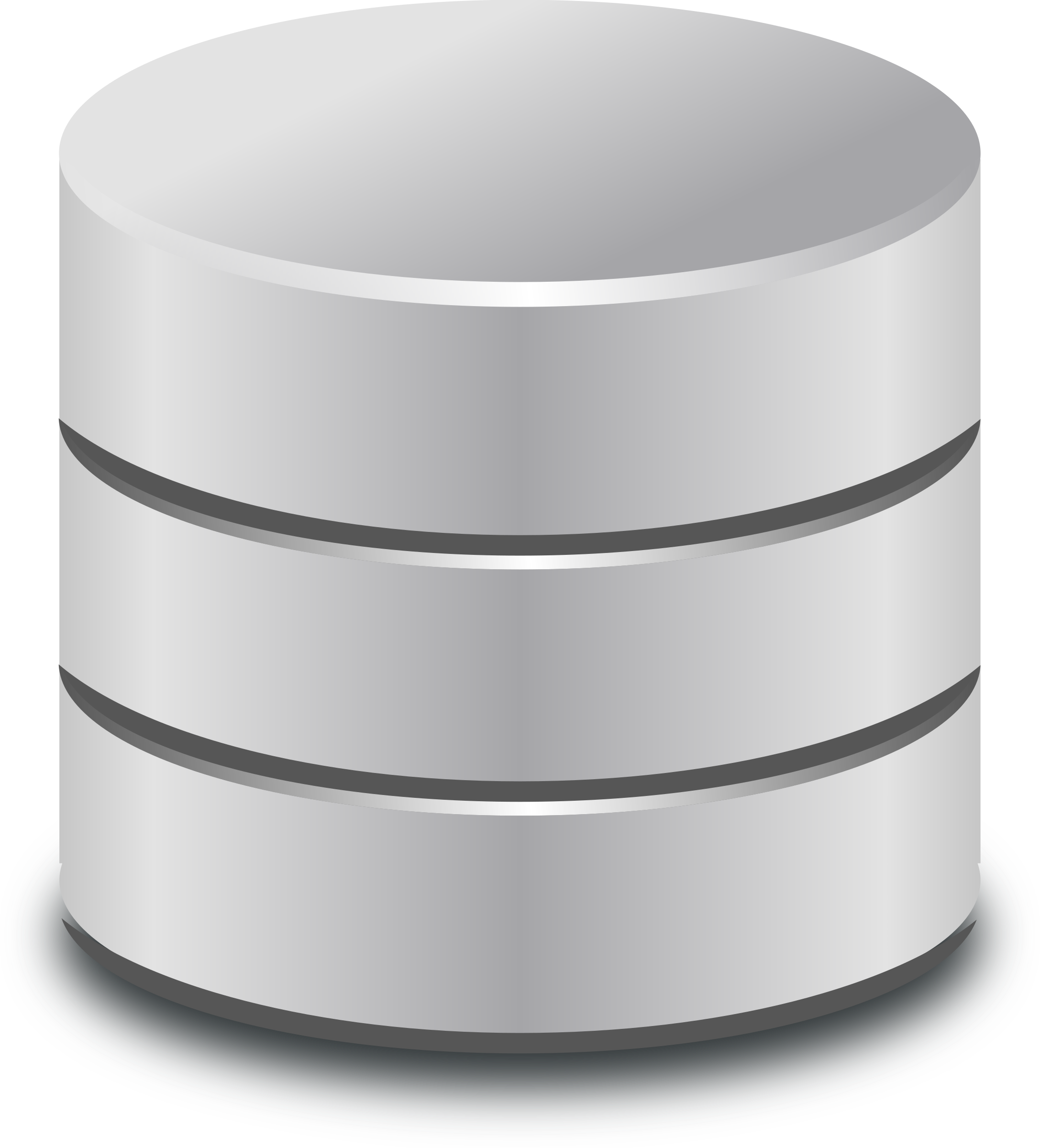 2174x2400 Database Symbol Vector Clipart Image
