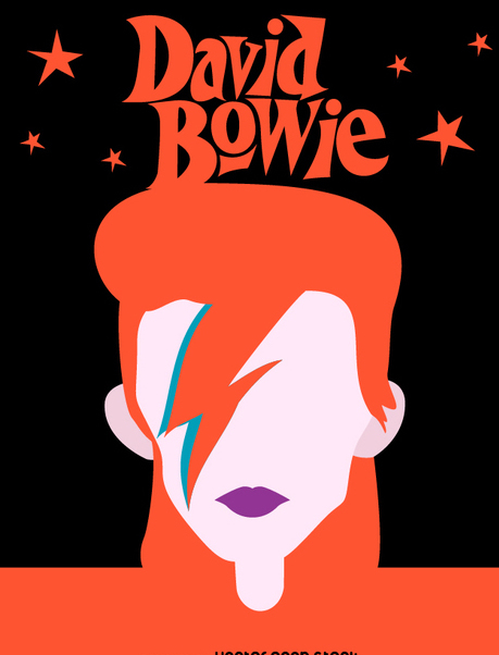 459x602 David Bowie Tribute Free Vector Download 346159 Cannypic