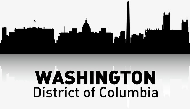 650x374 Washington, City Silhouette, City, City Png And Vector For Free