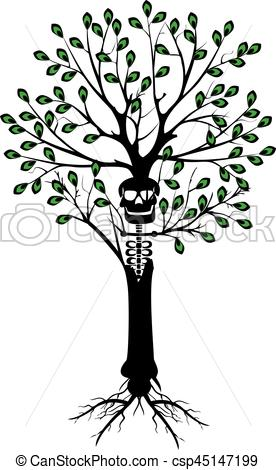 276x470 Dead Tree. It Is A Vector Illustration In Eps File.