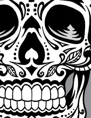 300x387 Pin By Sarah Owen On Dia De Los Muertos Rock Design