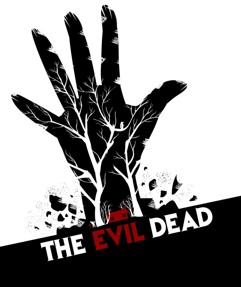 819x976 The Evil Dead (Red) By Stanivuk