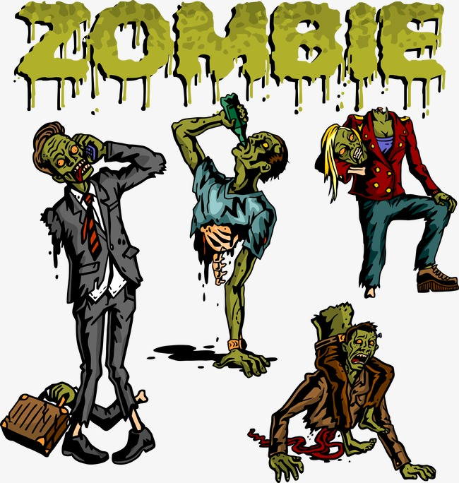 650x684 Vector Zombie, Zombie Vector, Dead, Vector Png And Vector For Free