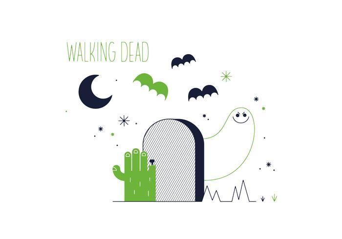 700x490 Walking Dead Vector