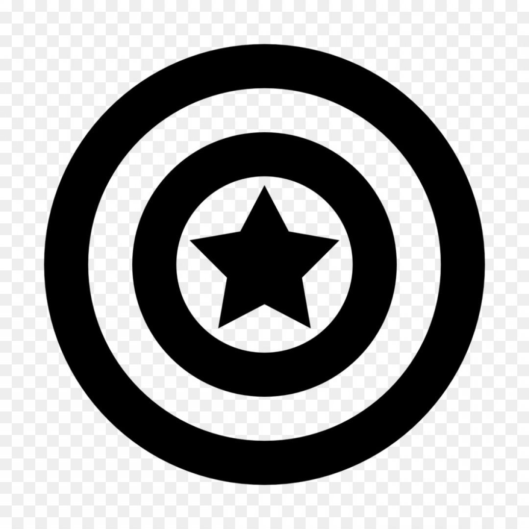 1080x1080 Png Captain America S Shield Deadpool America Vector Shopatcloth