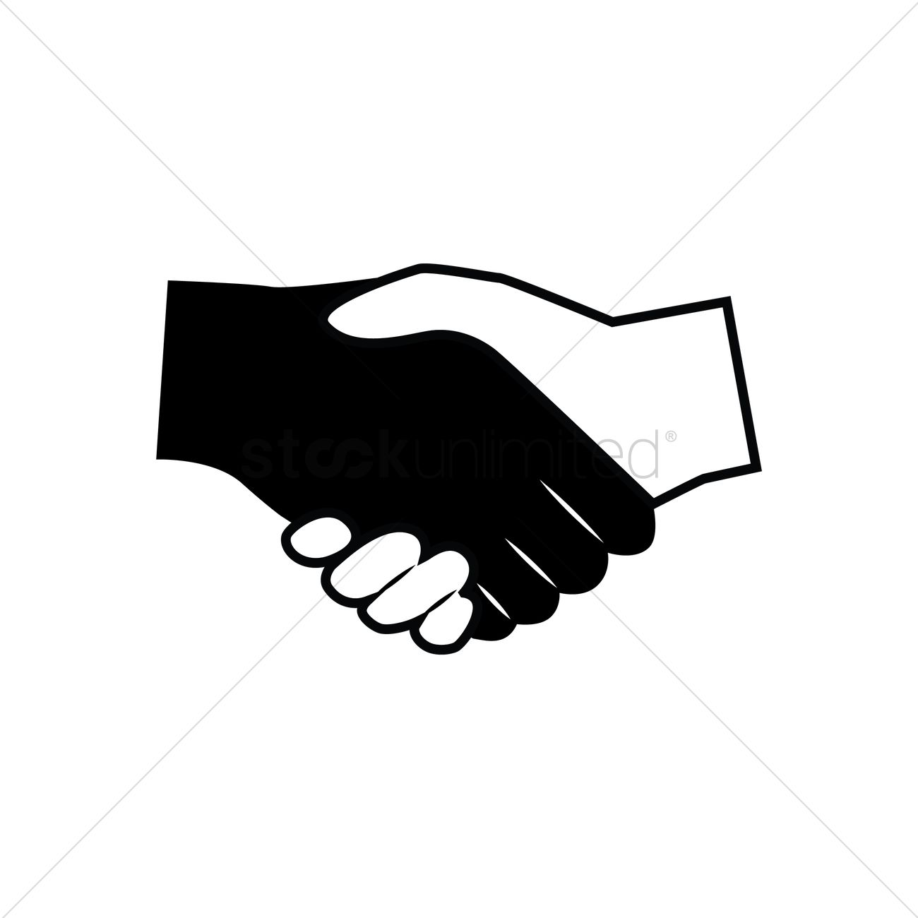 1300x1300 Free Business Deal Vector Image