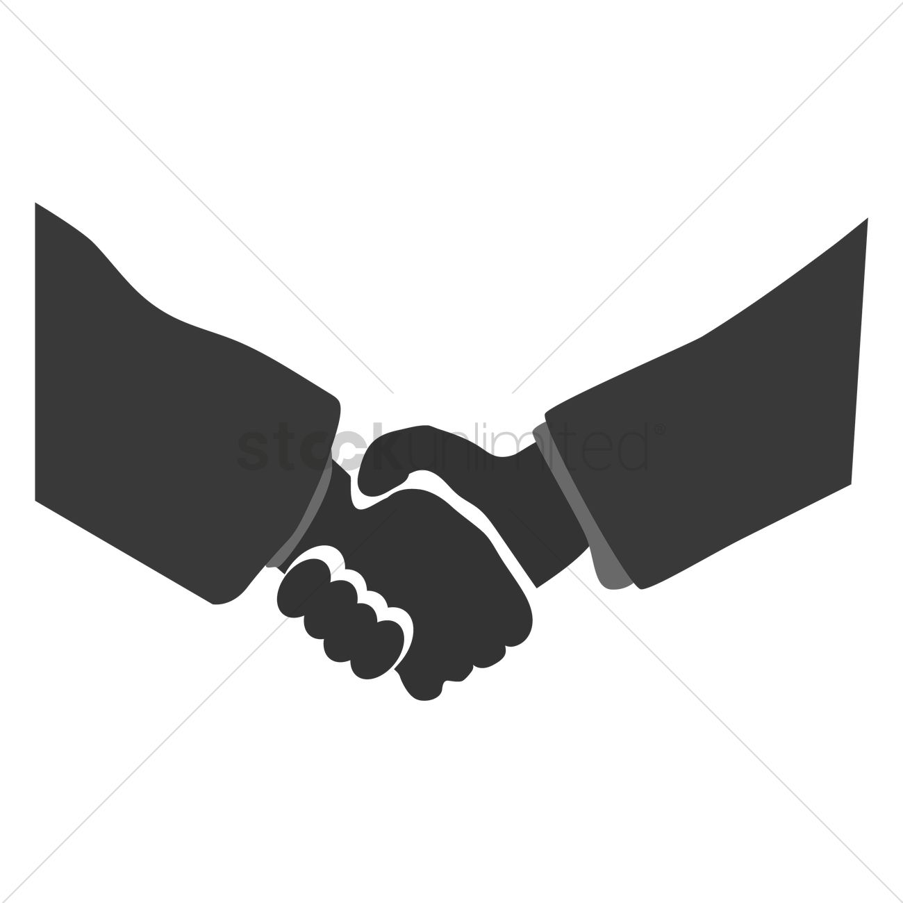 1300x1300 Business Deal Vector Image