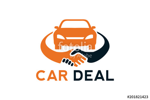 500x334 Car Deal Logo Design Template Stock Image And Royalty Free Vector