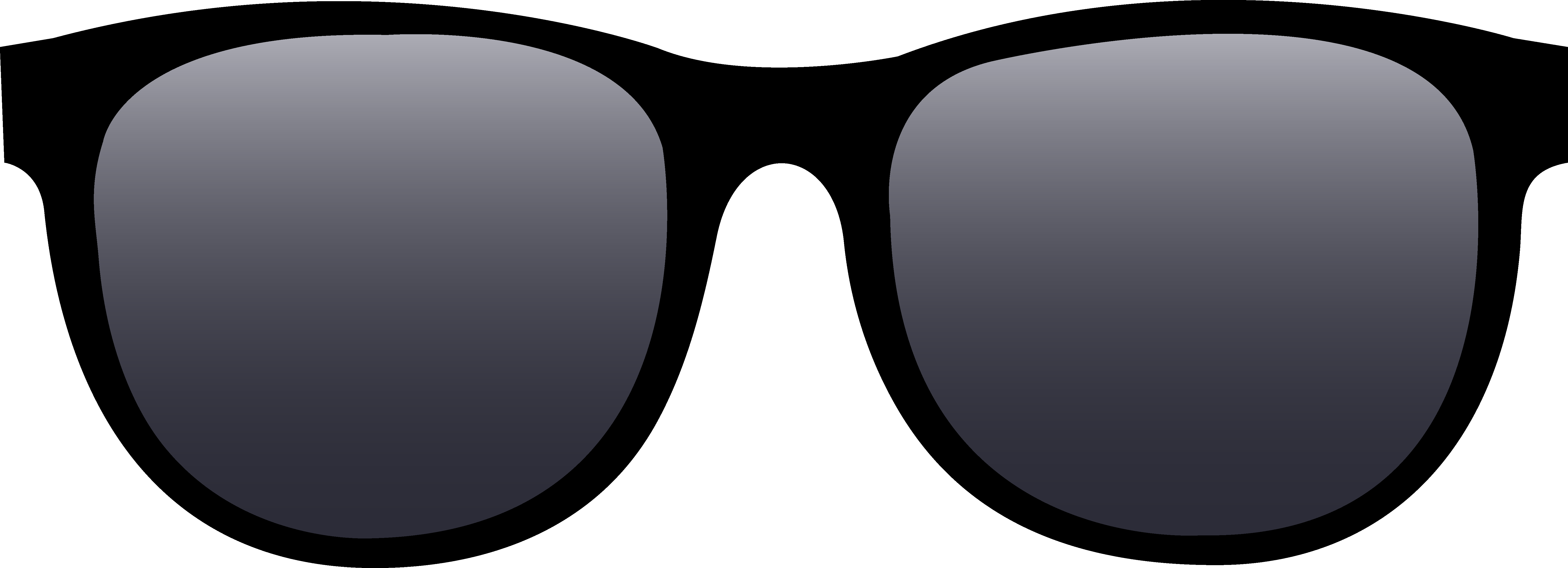 6638x2404 Deal With It Glasses Clipart