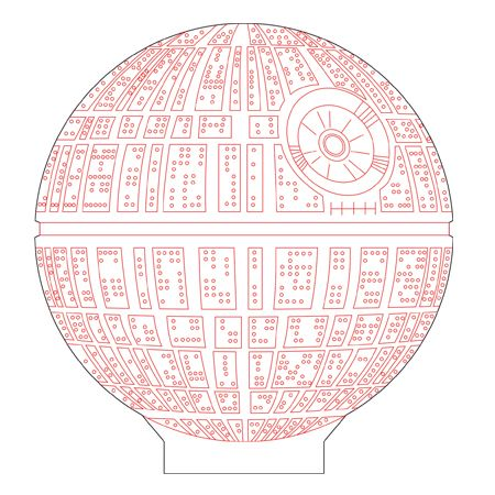 Death Star Vector at GetDrawings com | Free for personal use